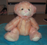 Teddy bear: Peach Pit by i-love-chi