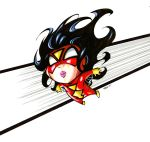Baby Spiderwoman colored by olivernome