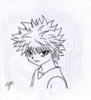 Killua *-* by AngelReiko