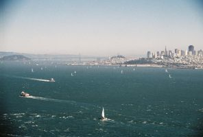 San Francisco From Afar by VictorianKiss