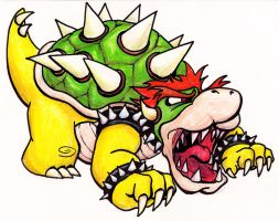 Bowser Hiss by Tair