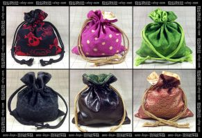 Dice Bag Selection by Pasiphilo