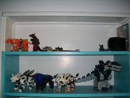 Zoids Collection by Bloodthirstwolf