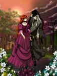 The Curious one ( Oc Anny and Undertaker ) by Sesshomaru-love