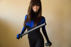 Nightwing Cosplay #2 by surfingthevoiid
