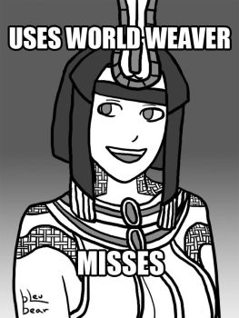 Smite - Bad Luck Neith by BleuBear