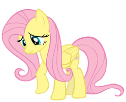 Fluttershy Scratching at the Ground by Ambits