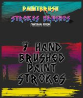 Paint Brush Stroke Brushes by fukm