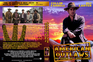 American Outlaws Jesse James DVD cover by Black-Battlecat