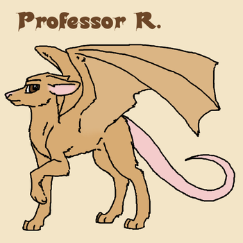 Professor R Reference by Ink-Wellington