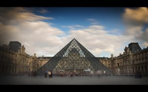 Musee du Louvre by marinsuslic