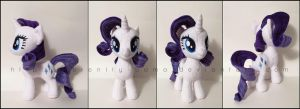 Plushie: Rarity - My Little Pony: FiM by Serenity-Sama