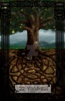 Mythology Tarot Yggdrasil by TheBlindProphetess