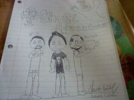 Zak, Nick, and Aaron in my cartoon form by GothicTaco198