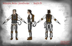 Winston Turnaround - Outfit B by DislocatedPenguin