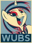 DJ Vinyl Scratch - WUBS (Hope Redux) by juniberries