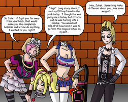Alternate Lollipop Chainsaw by gameboysage