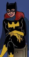 Cheryl Blossom as Batgirl by yefeth