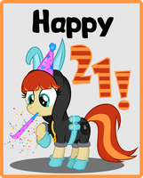 Happy Birthday Sourcerabbit! by Aerial-Ace-Pony