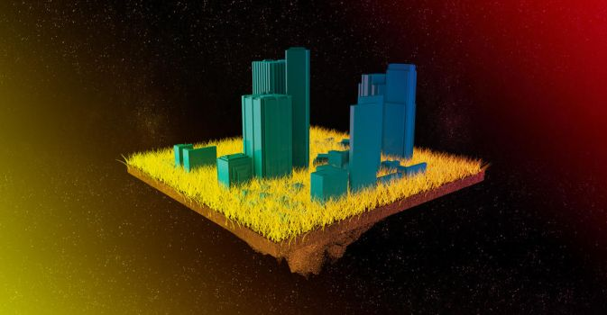 Space Grass by therealghostclown