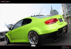 BMW M3 Coupe Verde LMAO by CaponeDesign