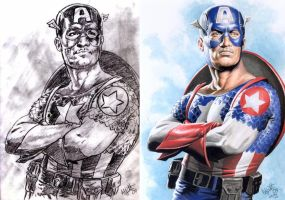 Captain America by Az-I-Am