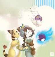 Pokemon Team by oOnyaOo