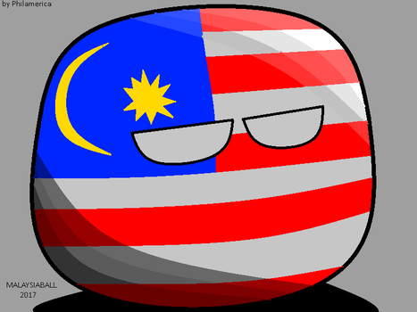 Malaysiaball 2017 by Philamerica by Philamerica
