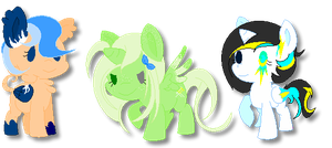 MLP FIM : Adopts #7 by Soxiiii
