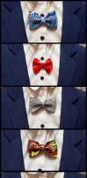 Bow-tie necklets by KyoudaiCosband