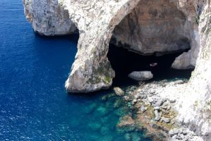 Blue Grotto by unknown-dark