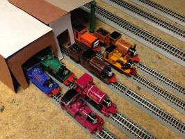 Narrow Gauge Fleet by BramGroatonDA