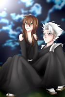 Resu + Toshiro ::Commission:: by itanaruluver