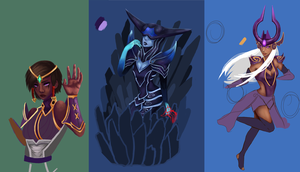 League of Unfinished Art by Pantalewns