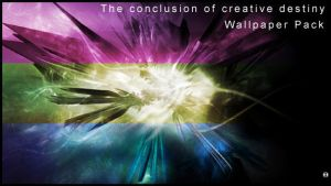 The Conclusion  WALLPAPER PACK by Vectortrance