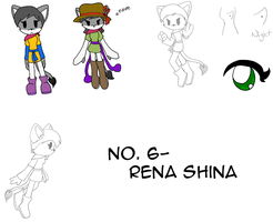 No. 6- Rena Shina by shard-sama