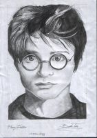 harry potter by silent-07