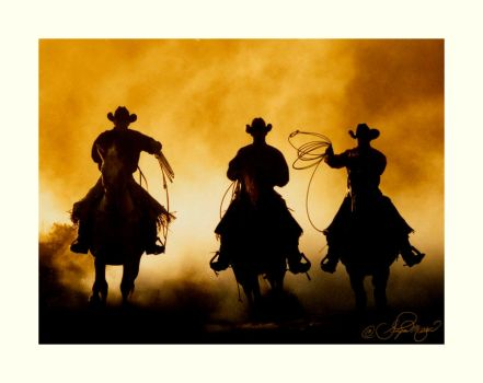 Three Cowboys by photocrafter