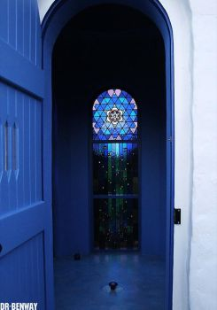 Blue door by Dr-Benway