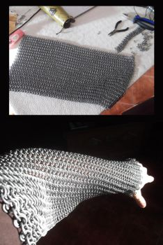 Chainmail project. by duh-veed