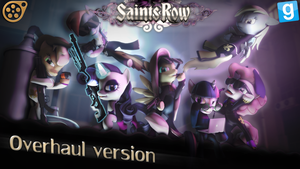 Saints Row Ponies the Third by Andrewnuva199