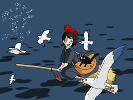 Kiki's Delivery Service by faithless12
