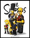 The Simpson gothic by chijuku