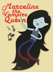 Marceline - The Vampire Queen by tirmesaito