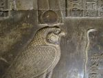Falcon carving  Egyptian by FalseMaria