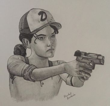 Clementine from The Walking Dead Game (SEASON 3) by HabeasArt