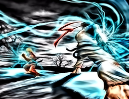 Psychedelic Street Fighter by anubis55