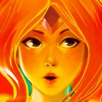 Flame Princess Up-close by Eemari