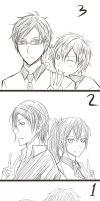 Free! - doodle countdown by kuro-alichino