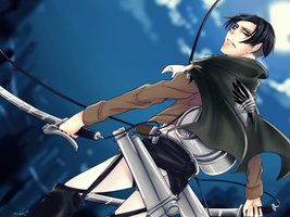 [Attack on Titan] Rivaille by P-Waninoko